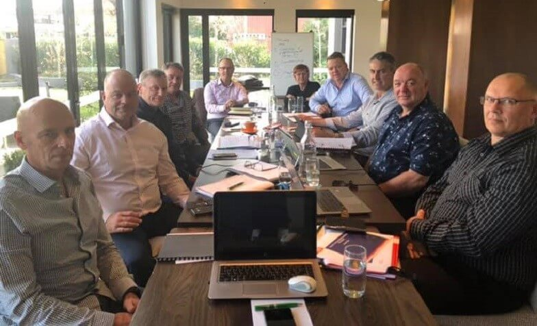 First meeting of National Secretary, President and FECA Committee