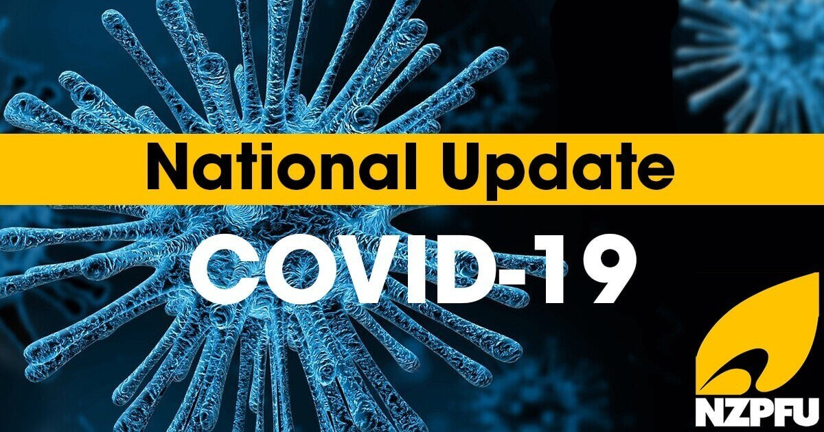 COVID-19 Update #15 Transitioning to Level 2