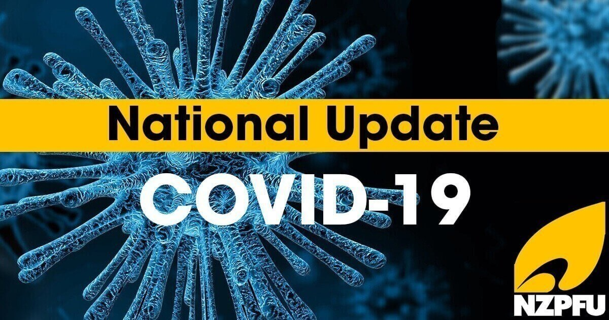 COVID-19 Update - Level 3 and Level 2 procedures