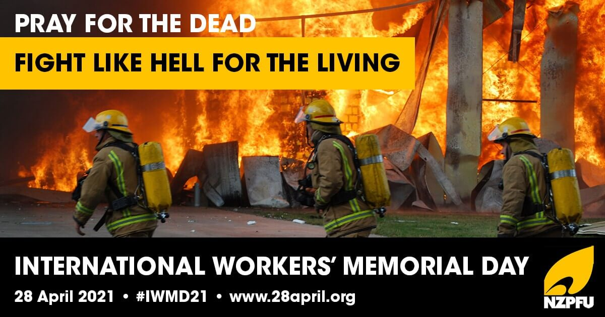 Workers' Memorial Day - April 28